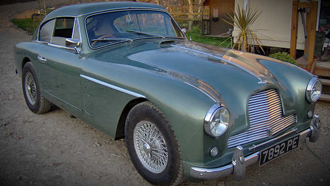 Doris The Aston Martin DB Mk - Aston martin db2