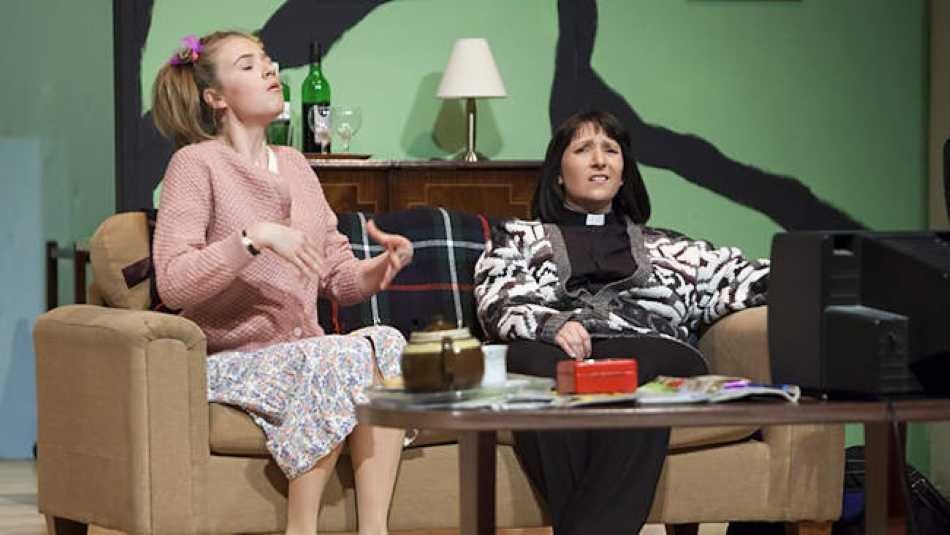 We're putting on The Vicar Of Dibley at Stantonbury Theatre in April.