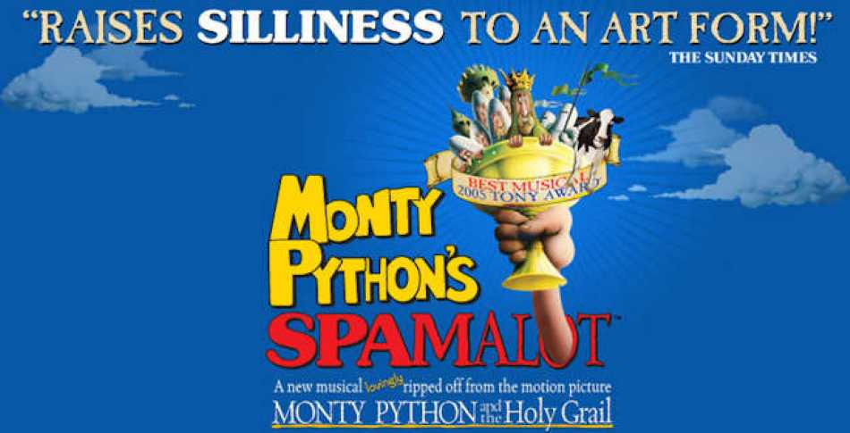 Cards and Spamalot? It's been an interesting month.