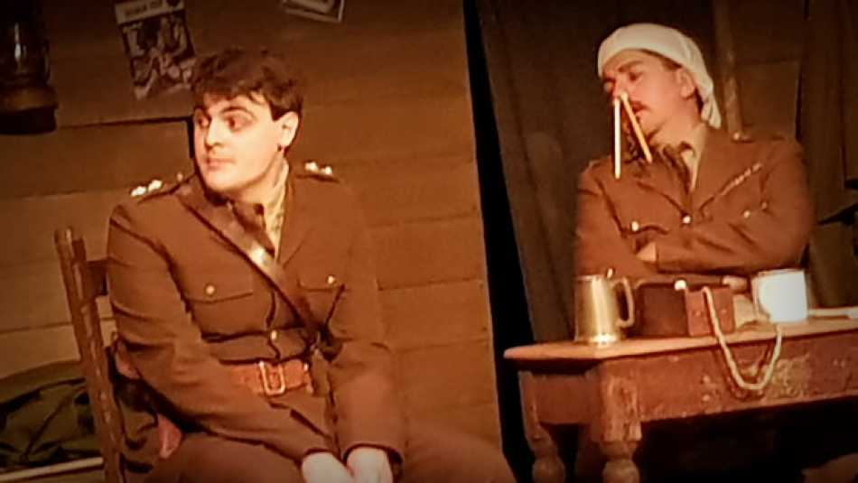 Blackadder goes forth, one last time.