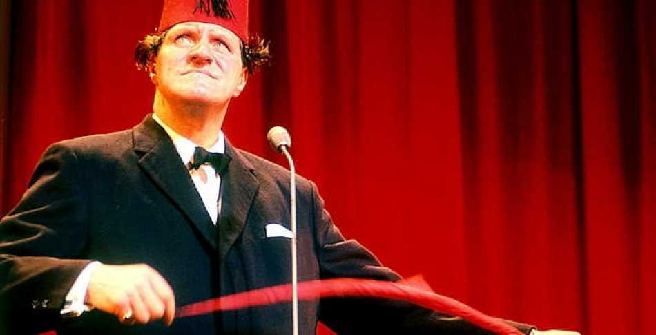 Tommy Cooper was a master magician and comedian.