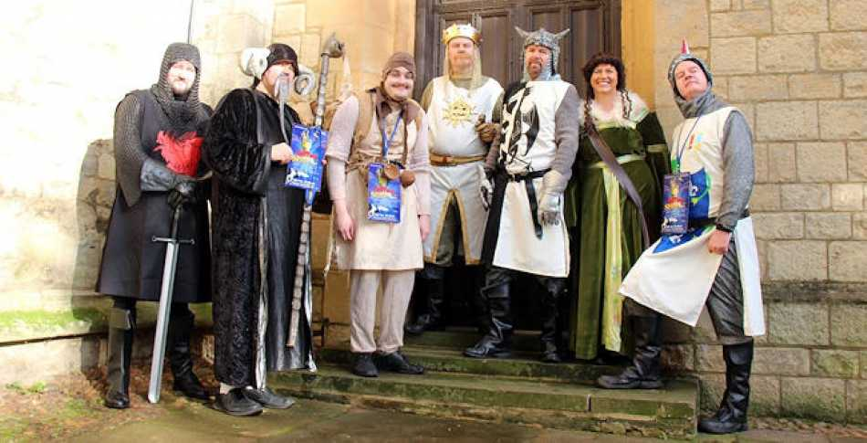 Spamalot has been great fun to put together. We're all really looking forward to the show.