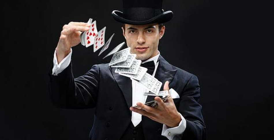 I stick to card tricks now which are considerably more fun