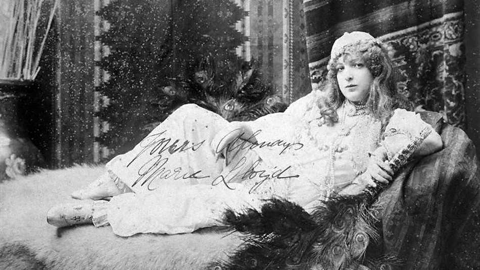 Marie Lloyd was the queen of the music hall at the turn of the 20th century