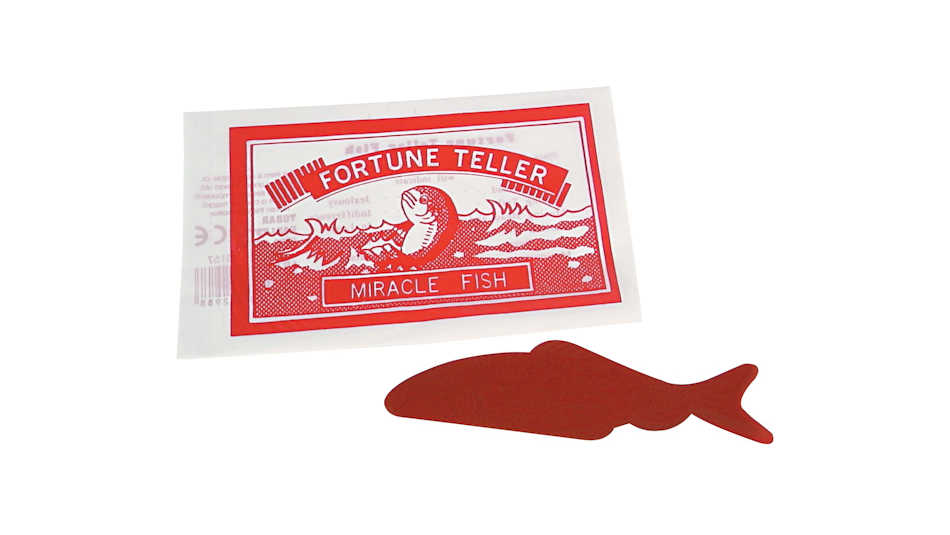 Yes, I import fortune-telling fish for Christmas, but they are rather special!
