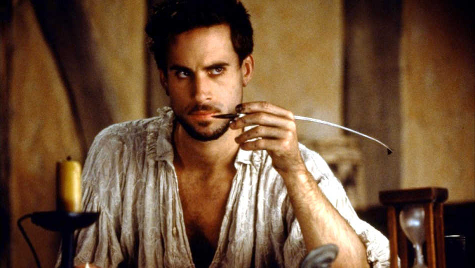 Happy birthday to The Bard, William Shakespeare! (Joseph Fiennes did a very good job of portraying him in Shakespear In Love!)